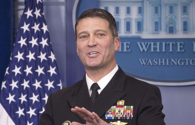 Etats-Unis: Donald Trump nomme le médecin de la Maison Blanche ministre des Anciens Combattants