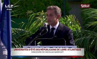 Le lapsus de Nicolas Sarkozy amuse les réseaux sociaux.