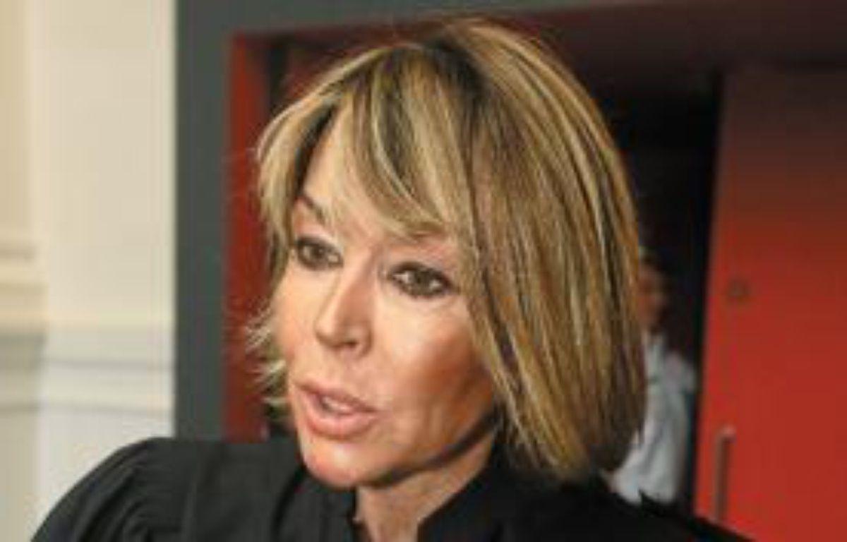 Marie-Hélène Pibouleau représente Julie, la victime. –  f . scheiber / 20 minutes