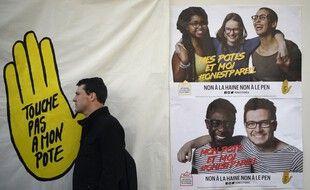 Des affiches de SOS Racisme. (archives)