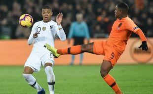 Kylian Mbappé a été impuissant face aux Pays-Bas.