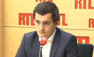 Gérarld Darmanin, le porte-parole de Nicolas Sarkozy lundi 10 novembre 2014 sur RTL