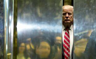 Donald Trump, dans la Trump Tower à New-York, en janvier 2017.