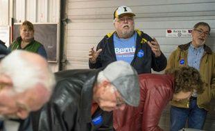Opération de vote pour les caucus démocrates le 1er février 2016 à Keokuk dans l'Iowa