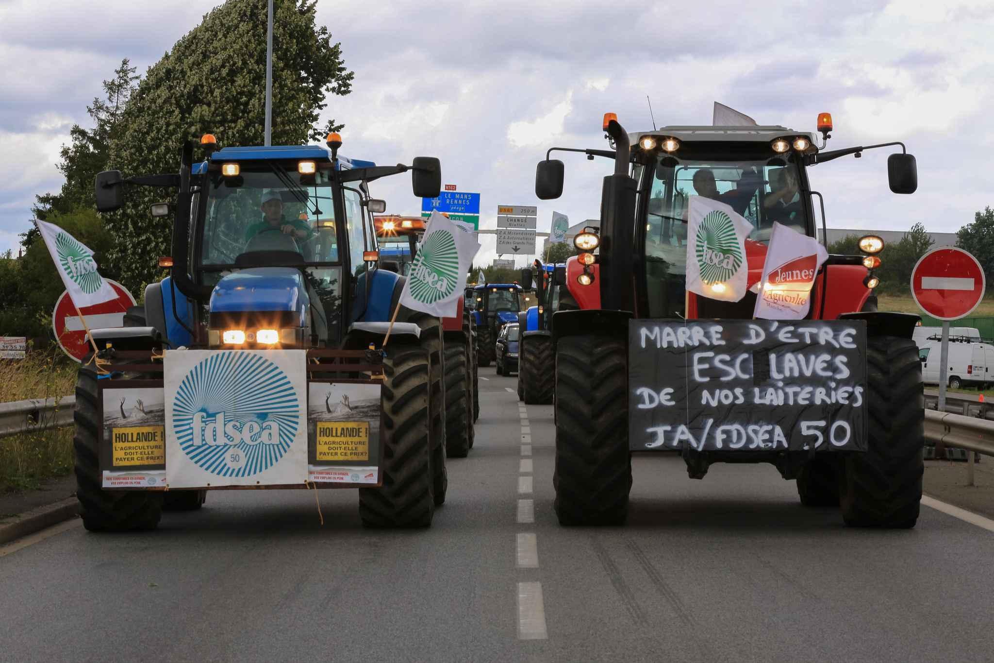Les producteurs laitiers se mobilisent de nouveau — Laval