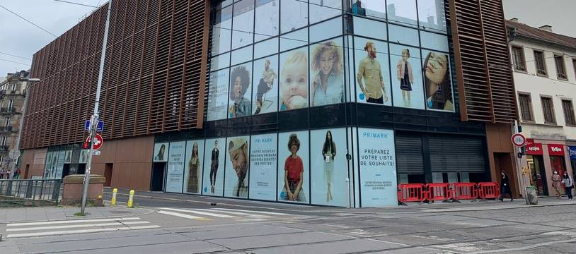 Le magasin Primark à Strasbourg le 10 juin 2020.