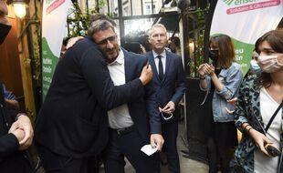 La déception de Matthieu Orphelin à l'annonce des résultats, dimanche soir.