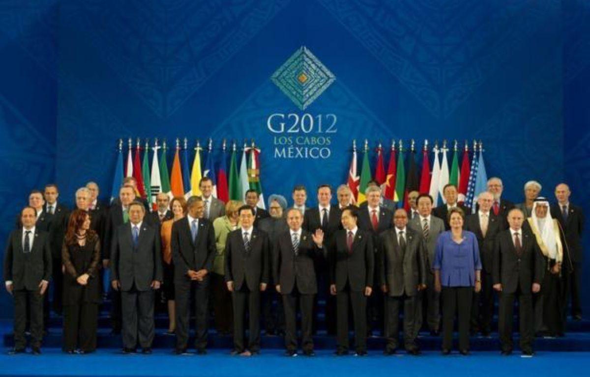 La croissance est le maître-mot retenu par les chefs d'Etat et de gouvernement du G20 réunis à Los Cabos (Mexique), qui doivent publier mardi une déclaration commune reflétant leur préoccupation pour l'économie européenne. – Bertrand Langlois afp.com