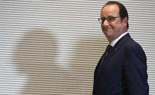 François Hollande le 21 juin 2015 à Milan, en Italie