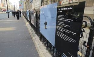 En trente clichés, l'exposition «Prises de rue» donne à Paris  par le regard de treize sans-abris.