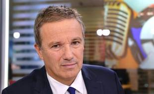 Nicolas Dupont-Aignan, le 18 octobre 2013 à Paris.