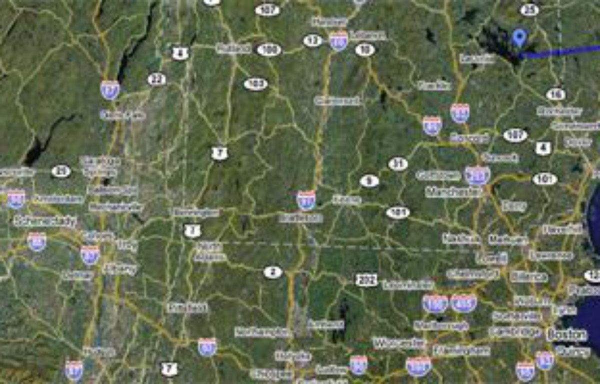 Nicolas Sarkozy partirait en vacances à Wolfeboro, près de Boston – google map