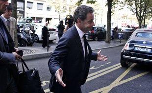 Nicolas Sarkozy, à Paris le 19 septembre 2014.