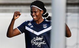 Khadija Shaw, l'attaquante jamaïcaine des Girondins de Bordeaux.