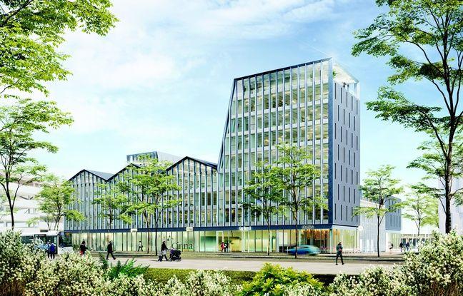 Cap-Horn, au sein du projet Quai des Caps, accueillera un ensemble tertiaire de près de 8.000 m2.