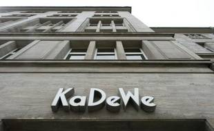 "Le magasin ""KaDeWe"" à Berlin, le 30 avril 2013"