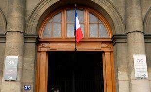 L'entrée du 36, quai des Orfèvres à Paris qui abritait le siège de la police judiciaire
