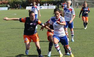 Avant de jouer à Lyon, Louisa Necib est passée comme beaucoup d'autres pa Montpellier