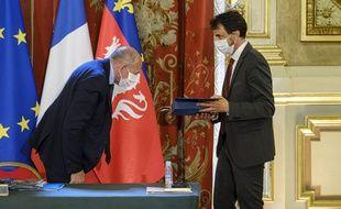 Gérard Collomb a laissé sa place à Grégory Doucet.