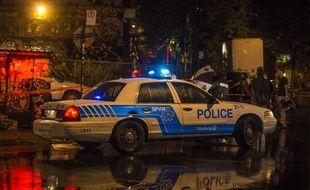 La police de Montréal procède à des vérifications quant aux menaces proférées (Photo d'illustration).