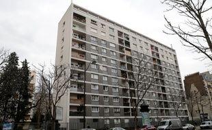 L'immeuble dans lequel résidait Mireille Knoll