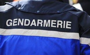 Illustration de gendarmerie, Laffrey, FRANCE - 03/07/2015 Credit:XAVIER VILA/SIPA