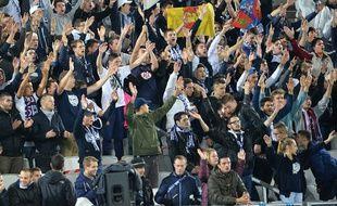 Les supporters des Girondins dans le Nouveau stade de Bordeaux, en octobre 2015.