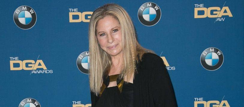 La chanteuse et actrice Barbra Streisand