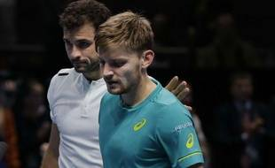 David Goffin s'est incliné en finale du Masters face à Gregor Dimitrov