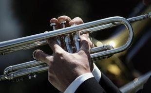 Une trompette.