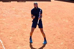 Benoit Paire enfin remotivé sur un court de tennis, c'est à Madrid que ça se passe.