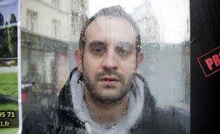 Johann Zarca, auteur du «Boss de Boulogne», le 20 janvier 2014 à Paris.