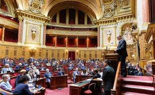 Le Sénat lors du discours de politique générale de Jean Castex en juillet 2020