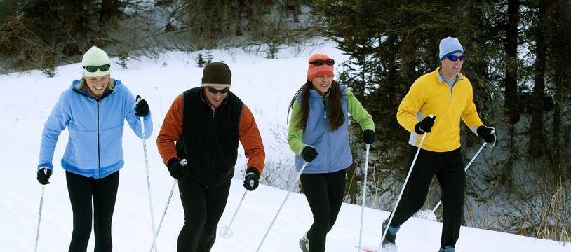 Le ski de fond, une pratique déconfinée.