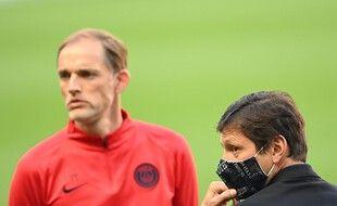 Leonardo et Tuchel ont mal digéré la défaite du PSG contre l'OM dimanche soir.