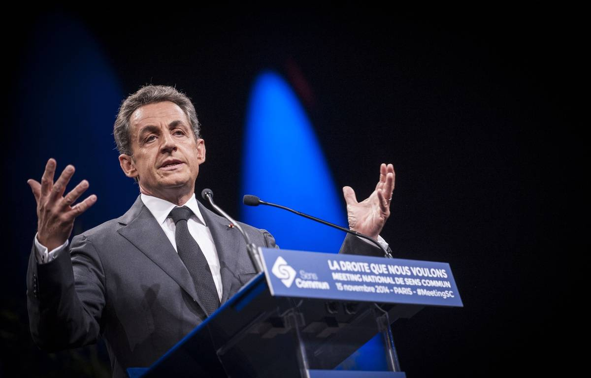 Nicolas Sarkozy, le 15 novembre 2014. – ZIHNIOGLU KAMIL/SIPA