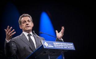 Nicolas Sarkozy, le 15 novembre 2014.