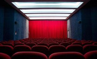 Illustration, salle de cinéma.
