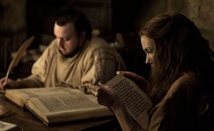 John Bradley-West aka Samwell Tarly et Hannah Murray aka Vère dans la 7e saison de «Game of Thrones».