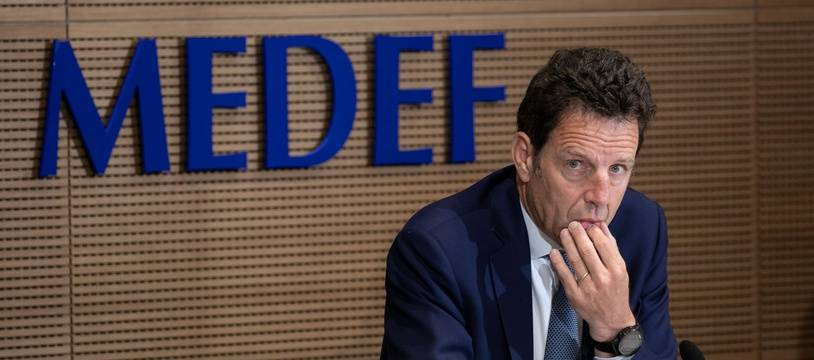 Geoffroy Roux de Bezieux, le président du MEDEF, le 28 mai 2020.