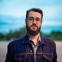 Adrien Larouzée, 35 ans, à l'origine de «Chasseurs de sapins»