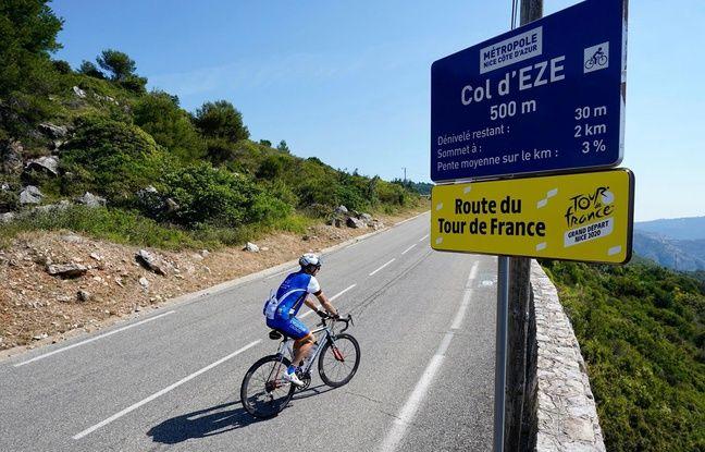 Tour de France 2020: Et si vous testiez les premiers cols, près de Nice, dans la peau d'un coureur ?