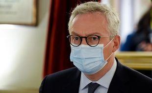 Bruno Le Maire à Paris, le 17 octobre 2020.