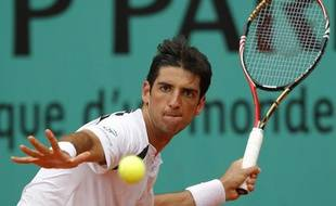 Thomaz Bellucci, le 29 mai 2010 à Roland-Garros.