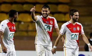 Farès Bahlouli a inscrit son premier but en professionnel lors du 32e de finale de Coupe de France face à Saint-Jean Beaulieu le 3 janvier (10-2). VALERY HACHE