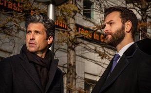 Patrick Dempsey et Alessandro Borghi, dans la série Devils.