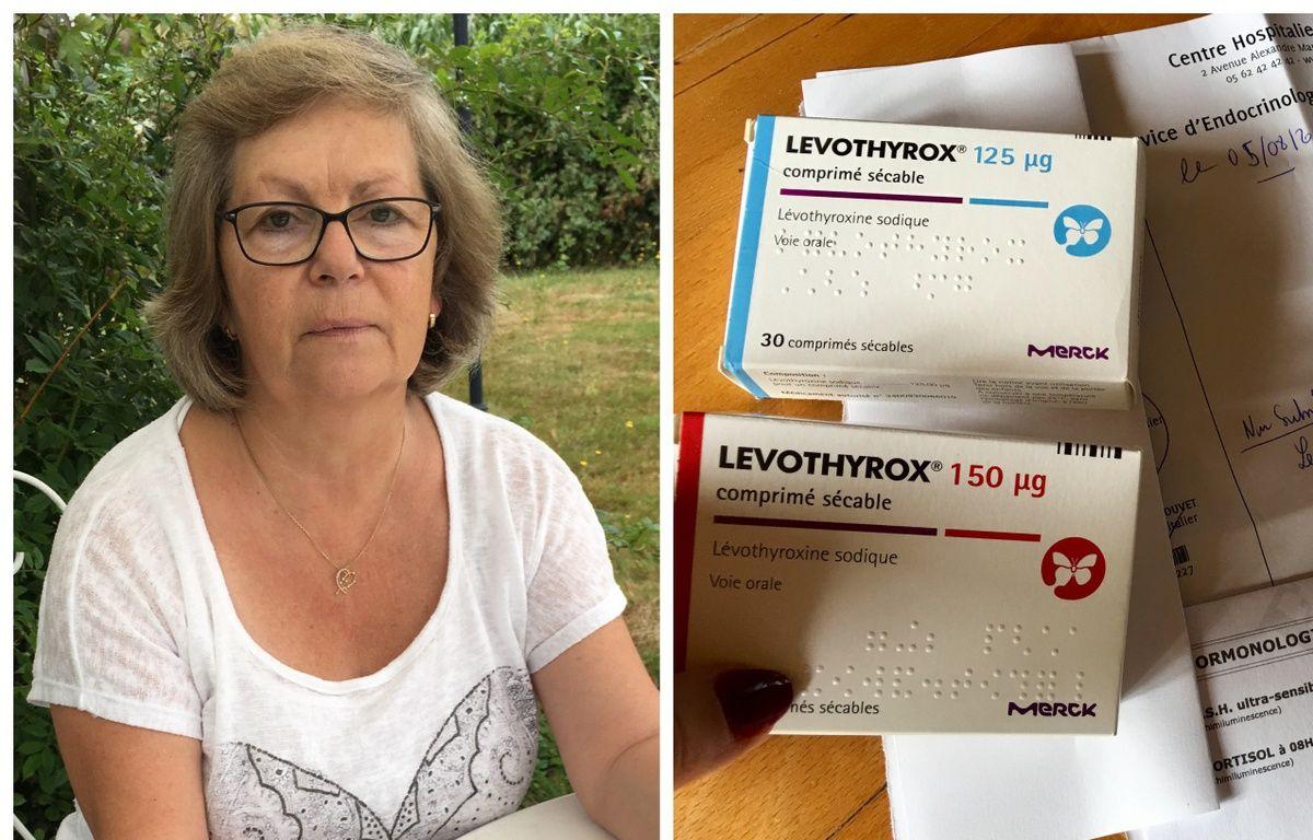 Armelle est sous Levothyrox depuis vingt-six ans. Son corps supporte très mal le passage à la nouvelle formule du Levothyrox. – A. Clabaux