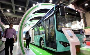 Un bus BYD à Hangzhou, en Chine