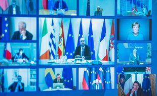 Le sommet européen du 26 mars 2020 par vidéoconférence.