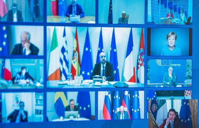 Coronavirus: Angela Merkel rejette l'idée des corona bonds lors du sommet européen